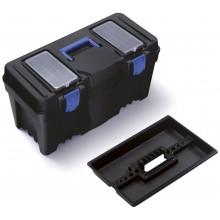 Prosperplast CALIBER Plastový kufr na nářadí modrý, 597 x 285 x 320 mm N25S