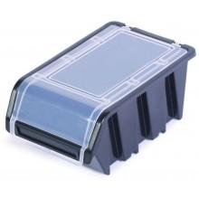 Kistenberg TRUCK PLUS Plastový úložný box s víkem, 23x16x12cm, černý KTR23F-S411
