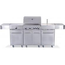 G21 Plynový gril Arizona, BBQ kuchyně Premium Line 6 hořáků + zdarma redukční ventil 6390330