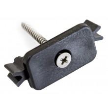 Příchytka terasového prkna G21 k nosníku terasových prken s ocelovým šroubem 63909972