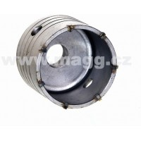 Příklepová vrtací korunka průměr 75mm se stopkou 110mm SDS+ 27075110