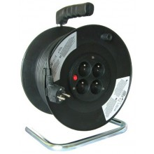 Prodlužovací kabel 3x1,5mm2 buben 50m, 4x zásuvka PB02