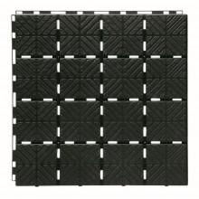 Prosperplast EASY SQUARE zahradní dlaždice 1,5 m2, černá IES40