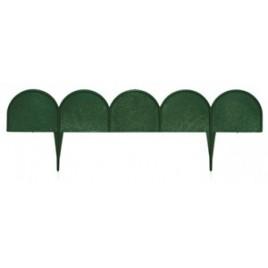 PROSPERPLAST GARDEN LINE obrubník 10m, zelená IKRA