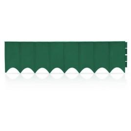 Prosperplast GARDEN FENCE zahradní obrubník 595x16cm zelený IKRR