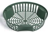 PROSPERPLAST ONION 2 plastový košík na cibuloviny 31,5cm, zelená IKCS315