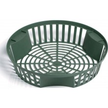 PROSPERPLAST ONION 2 plastový košík na cibuloviny 26,5cm, zelená IKCS265