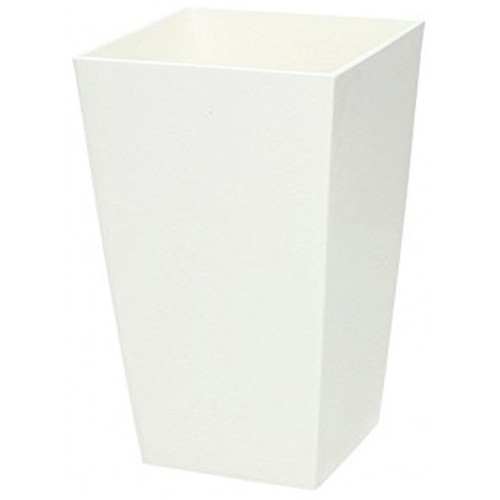 Květináč URBI SQUARE 12,5 cm, 2l, bílá DURS125