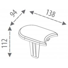 Prosperplast Palisáda zahradní 192,3x1,2cm šedý kámen IPAK1S