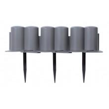Prosperplast palisáda 302x10cm šedá IPAL6