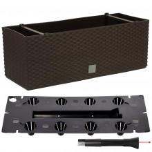 Prosperplast RATO CASE Truhlík +zavlažovací systém 60x25x24cm umbra DRTC600