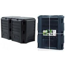 Prosperplast MODULE COMPOGREEN Kompostér 800L černý IKLM800C-S411