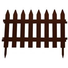 Prosperplast GARDEN CLASSIC zahradní plot 322x35cm hnědý IPLSU