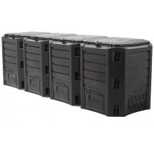 Prosperplast MODULE COMPOGREEN 1600L Kompostér černý IKSM1600C