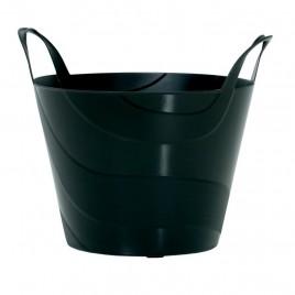Koš plastový univerzální BILLY 42 cm, 30l, černá IPBI420