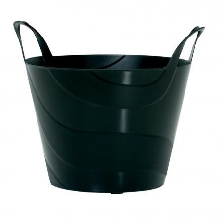 Koš plastový univerzální BILLY 48 cm, 45l, černá IPBI480