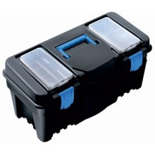 PROSPERPLAST CALIBER Plastový kufr na nářadí modrý, 550 x 267 x 270 mm N22S