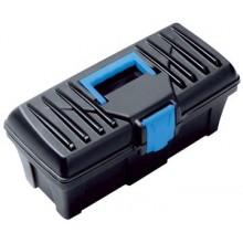 PROSPERPLAST CALIBER Plastový kufr na nářadí modrý, 300 x 167 x 150 mm N12S