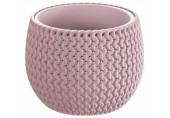 PROSPERPLAST SPLOFY Bowl květináč 29 cm, růžová DKSP290