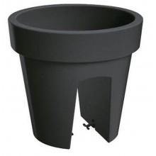 Květináč balkonový LOFLY RAILING 25 cm, 5l,24,5 x 24,5 x 22,5 cm antracit DLOFR250