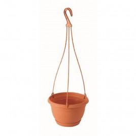 Květináč závěsný AGRO 27 cm, 4,5l, terakotová DAGW5