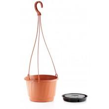 Květináč závěsný PRO 21 cm, 3,2l, terakotová DWP21