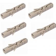 RABOVSKÝ Hmoždinka NYLON hnědá H12 12x58 mm (5 kusů) 70110012