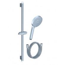 RAVAK 902.00 sprchový set: hadice/růžice plochá/ tyč X07P177