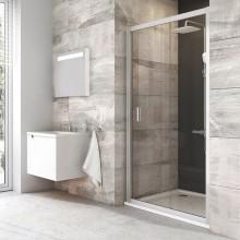 RAVAK Blix BLDP2-110 sprchové dveře posuvné dvoudílné, bright alu+Transparent 0PVD0C00Z1