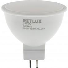 RETLUX RLL 288 GU5.3 LED žárovka bodová 7W 12V WW