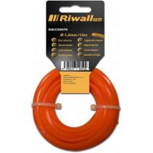 Riwall PRO Žací struna pr. 1,2mm, délka 15m, čtvercový průřez RACC00076