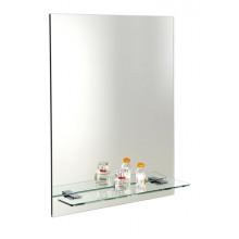 AQUALINE STRONG zrcadlo 50x70cm s otvory pro polici 22429