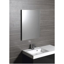 SAPHO PLAIN zrcadlo 60x80cm, bezpečnostní zakulacené rohy, bez závěsu 1501-26