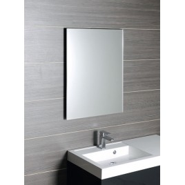 SAPHO ACCORD zrcadlo s fasetou 60x80cm, bezpečnostní zakulacené rohy MF441
