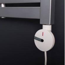 SAPHO Elektrická topná tyč s termostatem, bílá GV-600