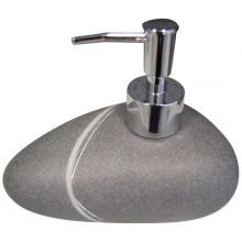 SAPHO LITTLE ROCK dávkovač mýdla na postavení, tmavá 22190507