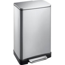 SAPHO E-BIN odpadkový koš 30l, Soft Close, broušená nerez DR205