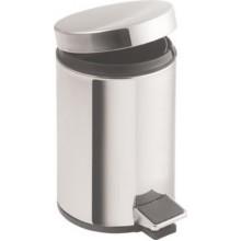 AQUALINE SIMPLE LINE odpadkový koš kulatý 20l, leštěná nerez 27120