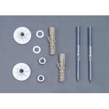 AQUALINE UAK 14 Komplet pro kotvení umyvadel, šroub 10x140 mm