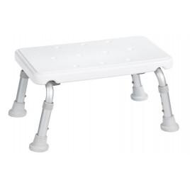 SAPHO stolička na nohy, výškově nastavitelná, bílá A0102601