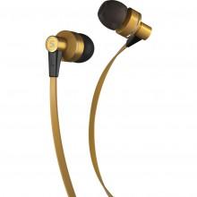 SENCOR SEP 300 MIC GOLD MET sluchátka zlatá 35048640