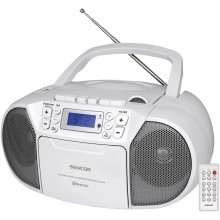 SENCOR SPT 3907 W rádio s CD/USB/BT/KAZE 35050783