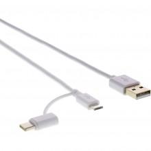 SENCOR SCO 522-015 WH USB A/M-Micro B/C 45013054
