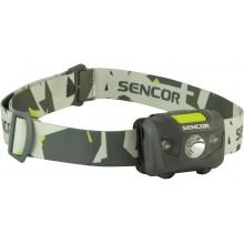 SENCOR SLL 55 GREY Čelovka 3W+2R 3XAAA 50001336