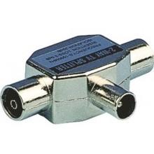 SENCOR Konektor SAV 124-000 An.sluč. 1M-2F nikl P 35020218