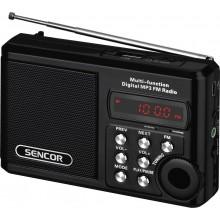 SENCOR SRD 215 B Rádio s USB/MP3 35039901