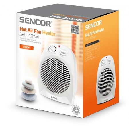 SENCOR SFH 7011WH Teplovzdušný ventilátor, bílý 41006979