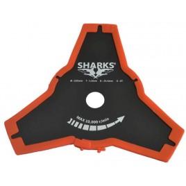 SHARKS Nůž ke křovinořezu 3Z, BSP-007B