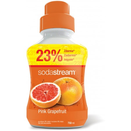 SODASTREAM Sirup Pink Grapefruit 750ml 42001174