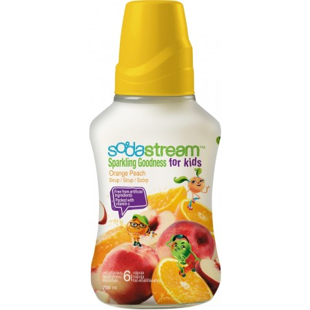 Sirup Orange Peach Good-Kids 750ml SODASTREAM
